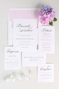 Shine Wedding Invitations #weddingideas