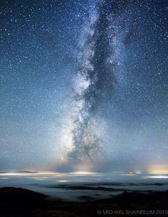 Milky Way Over Santa Ynez, California