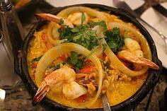 Moqueca - a Brazilian seafood stew from Espirito Santo and Bahia @ Muqueca in Cambridge, MA #bostonfood