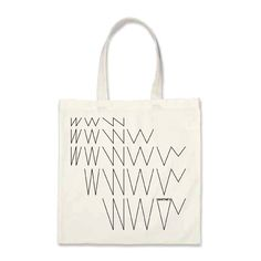 Whitney Museum New Identity Canvas Tote