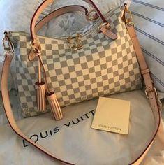 6ff8ede93bb6 Louis Vuitton Lymington Damier Azur Canvas Cowhide Textile Satchel. Save  23% on the Louis