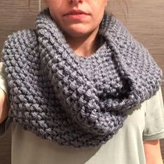 blue infinity scarf Gap inspired infinity scarf. Light blue/gray color that's perfect for winter! Handmade. 100% acrylic. ❌NO TRADES❌ Don't like the price? Make an offer! GAP Accessories Scarves & Wraps