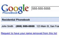 google free cell phone number search