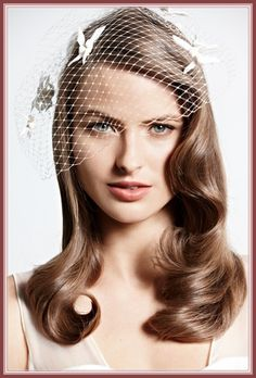 Image result for old hollywood wedding hair