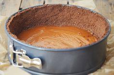 Kublanka vaří doma - Čokoládový dort s karamelem