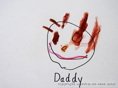 "Daddy Portrait: 10 Father's Day Gifts from Kids ......* By any chance - is daddy's name ""Wilson"" ???"
