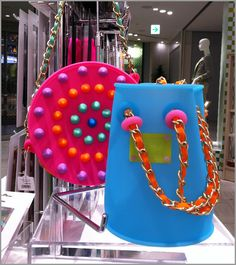 handbags made from silicon by Candies