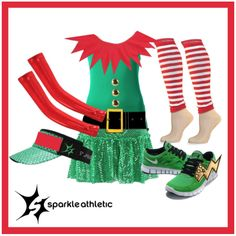 Sparkle Athletic Santa's Elf Running Costume | Sparkle Athletic