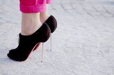 Love these. I have one pair of Christian Louboutins and I can't wait to have more!