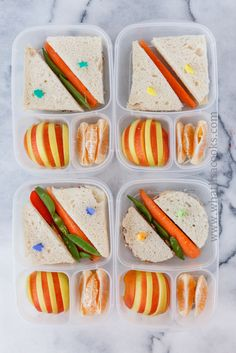 TONS of Healthy lunchbox ideas for kids! Healthy School Lunches, Healthy Snacks, Toddler Meals, Kids Meals, Cute Lunch Boxes, Back To School Lunch Ideas, Little Lunch, Lunchbox Ideas, Cooking Recipes