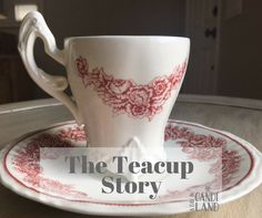 The Teacup Story is an inspirational and encouraging story you will want to share. The author is unknown and the bible verse that correlates with this story is Jer about the Potter and the Clay. Afternoon Tea Recipes, Afternoon Tea Parties, Tea Quotes, Christmas Tea, Christmas Candy, Tea Sandwiches, My Cup Of Tea, For Facebook, High Tea