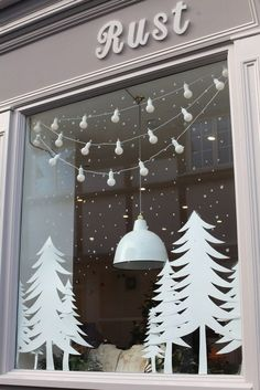 Xmas has arrived at our Rust Yarmouth shop, oh yes indeed! The reason we jumped … Xmas has arrived at our Rust Yarmouth shop, oh yes indeed! The reason we jumped at the chance to get our mitts on this shop was because … Office Christmas, Noel Christmas, Christmas Crafts, Christmas Windows, White Christmas, Christmas Tables, Christmas Bedroom, Modern Christmas, Scandinavian Christmas