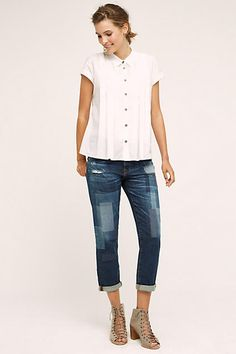 AG Ex-Boyfriend Slim Jeans - anthropologie.com