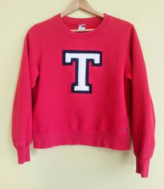 Hey, I found this really awesome Etsy listing at https://www.etsy.com/listing/215565911/vintage-tommy-hilfiger-sweatshirt-all