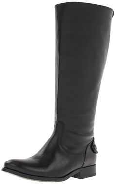 FRYE Women's Melissa Button Back-Wide Calf Zip Boot ** If you love this, read review now : Boots Shoes
