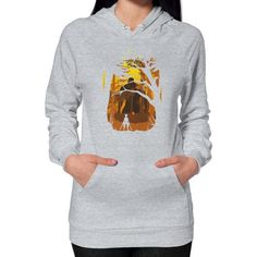 Colossus Titan Hoodie (on woman)
