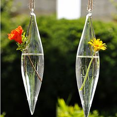 Table+Centerpieces+Hanging+Spendle+Shaped+Glass+Vase++Table+Deocrations++–+USD+$+3.59