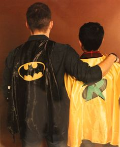 dallascon2014, Jensen and Osric as Batman and the boy wonder. THIS HURTS MY HEART IN WAYS I CAN NEVER EXPRESS