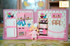 "Developing book ""Dollhouse"" - Babyblog.ru"