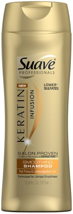Suave Professionals Keratin Shampoo, Only $0.74 at Target!