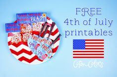 FREE Coton Colors 4th of July printables to FIRE up your Fourth!
