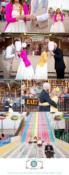 Fun Texas State Fair Trash the Dress Shoot by Katie Cassidy Photography