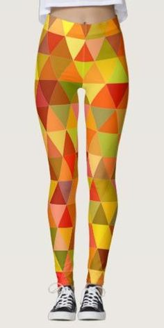 Discover Abstract leggings at Zazzle! Yoga Fashion, Fashion Fashion, Womens Fashion, Mosaic Tile Designs, Leggings Fashion, Boho Outfits, Printed Leggings, Dressmaking, Things That Bounce