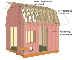 House Plans Shed Roof Building A Storage Shed, Wood Storage Sheds, Shed Building Plans, Diy Shed Plans, Storage Shed Plans, Workshop Storage, Barn Plans, Garage Plans, Storage Organization