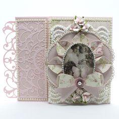 Amazing Paper Grace April Die of the Month Blog Hop – Dahlia Dimensional Doily | Tara's Craft Studio