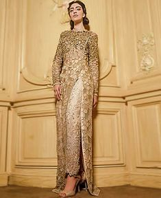 D6615 Apricot Tansy High Fashion Formal Dresses Party Wear Faraz Manan Wedding and Formal Occasions