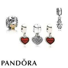Pandora Black Friday 2015 Mother & Daughter Gift Set Clearance Deals PDR781026CZ