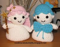 Free! - Needle-Works Butterfly: Amigurumi Little Twin Star Look-Alike