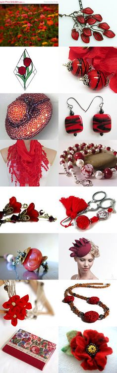 Red Hot Holiday Gift Guide! by Allison and Sheryl on Etsy--Pinned with TreasuryPin.com
