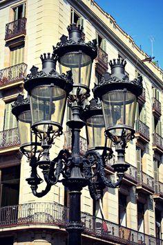 Farolas de Barcelona