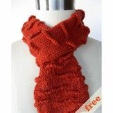 Cocoknits Welted Scarf (Free)