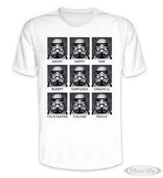 Star Wars T-Shirt Many Faces of Stormtrooper Hier bei www.closeup.de
