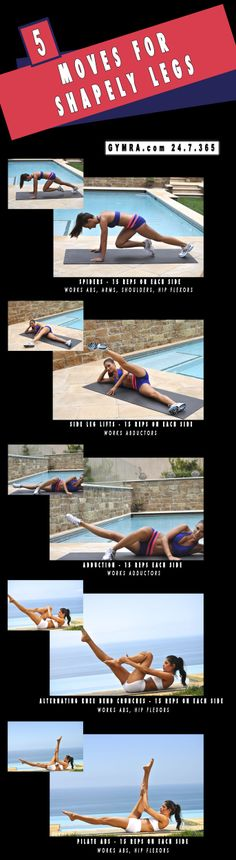 Leg workout. Get yourself in the best shape of your life. Step up to the plate…