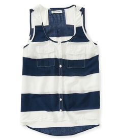Rugby Stripe Tank from Aeropostale