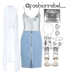"""""""Summer Love ❤️"""" by jestineee on Polyvore featuring Topshop, Steve J & Yoni P, 3.1 Phillip Lim, Bebe, Bling Jewelry, Boohoo, Christian Dior and Carolee"""