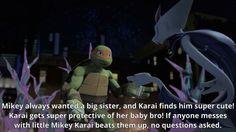 Just like with Leo, Raph, and Donnie Ninja Turtles Art, Teenage Mutant Ninja Turtles, Beste Comics, Turtle Facts, Tmnt Mikey, Tmnt 2012, Cinema, Girl Meets World, Cartoon Shows
