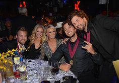 Luke, Caroline, Charles Kelley and wife, and Dallas Davidson