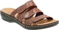 Clarks Womens Leisa Cacti Slide Sandal BrownMulti 9 M US >>> Be sure to check out this awesome product.