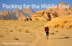 packing list for the middle east