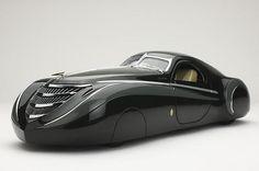 1939 Duesenberg Coupe Simone Midnight Ghost, by American Car designer Emmet-Armand. Auto Retro, Retro Cars, Automobile, Dieselpunk, Amazing Cars, Hot Cars, Custom Cars, Exotic Cars, Concept Cars