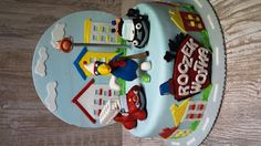 Torty ciasta i ciasteczka Joli: Tort Strażnicy miasta dla Wojtusia