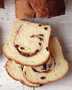 Homemade Cinnamon-Raisin Bread Recipe I think I would use a whole lot more of the cinnamon & raisins in mine! :-)