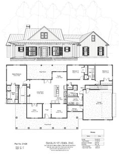Printing Videos Architecture Home Cookies Sweet Treats Barn House Plans, New House Plans, Dream House Plans, House Floor Plans, My Dream Home, The Plan, How To Plan, Renovation Facade, Modern Farmhouse Plans
