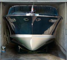 Fotoplane für Garagentor Boot/ Garage Mural Boot