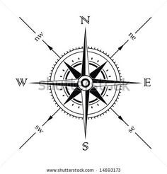 nautical map compass pictures - Google Search