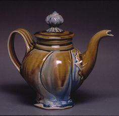 Dianne Rosenmiller soda fired teapot